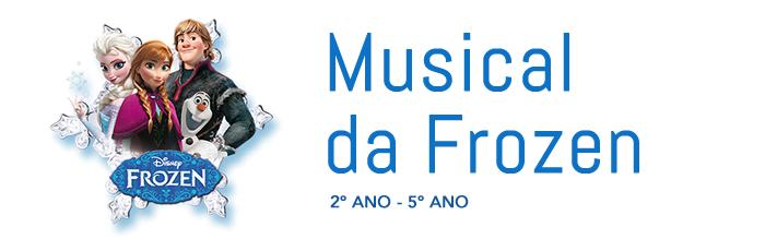 Musical Frozen | Escola Criação