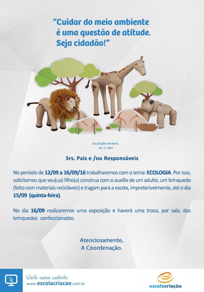 Ecologia | Escola Criação