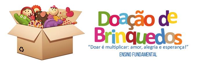 Doação de Brinquedos | Ensino Fundamental I